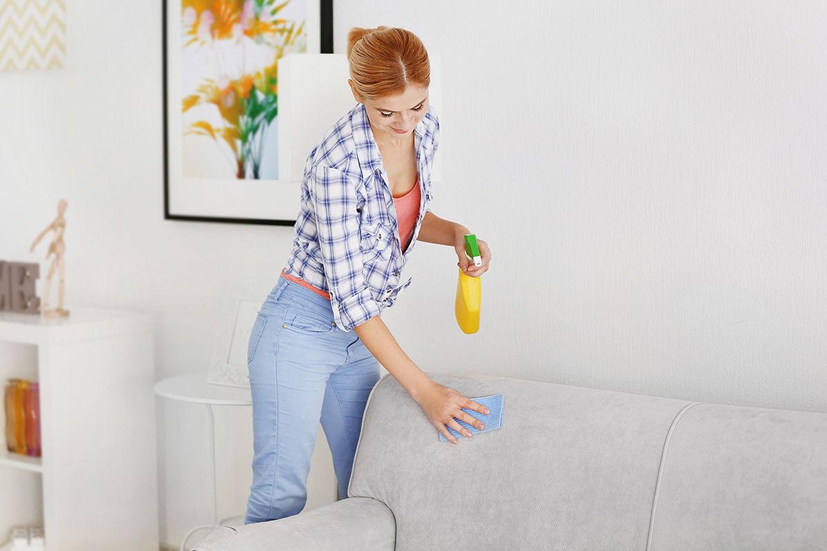 Очищение мебели