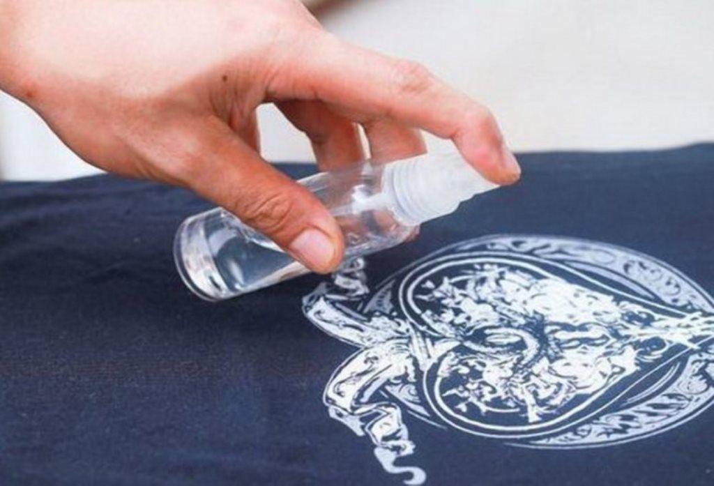 химический способ снятия наклейки
