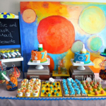 декор детского праздника и стола