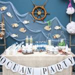 декор детского праздника в морском стиле