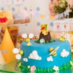 декор детского праздника с тортом
