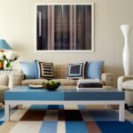 абстракция над диваном