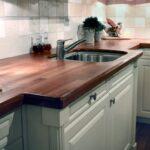 деревянная столешница для кухни идеи декор