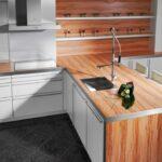 деревянная столешница для кухни фото интерьер