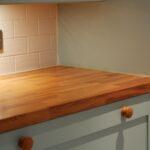 деревянная столешница для кухни идеи интерьер