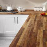 деревянная столешница для кухни идеи интерьера
