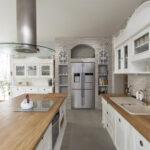 деревянная столешница для кухни идеи фото