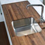деревянная столешница для кухни оформление