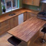 деревянная столешница для кухни идеи оформления