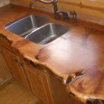 деревянная столешница для кухни варианты фото