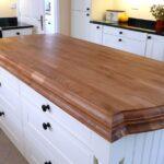 деревянная столешница для кухни идеи варианты