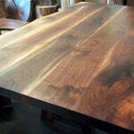 деревянная столешница для кухни фото виды
