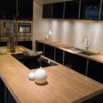 деревянная столешница для кухни идеи виды