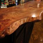 деревянная столешница для кухни декор