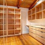 деревянные полки для гардероба