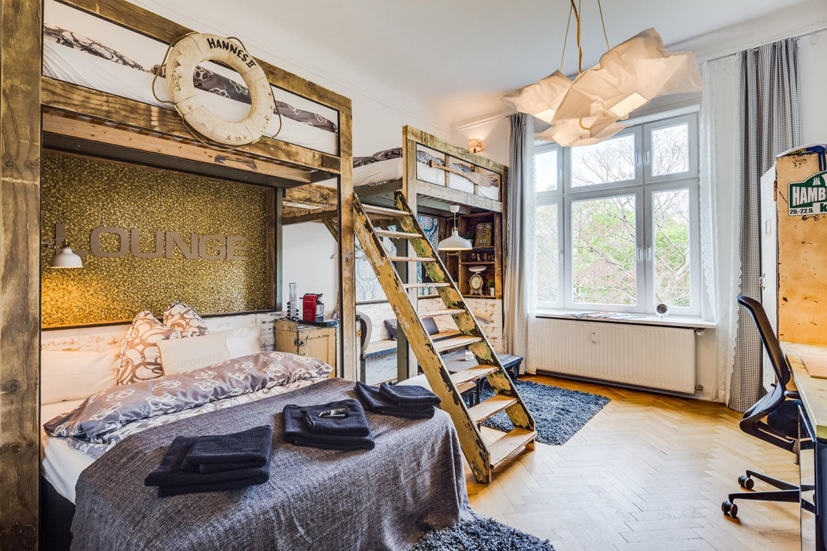 кровать для троих детей дизайн