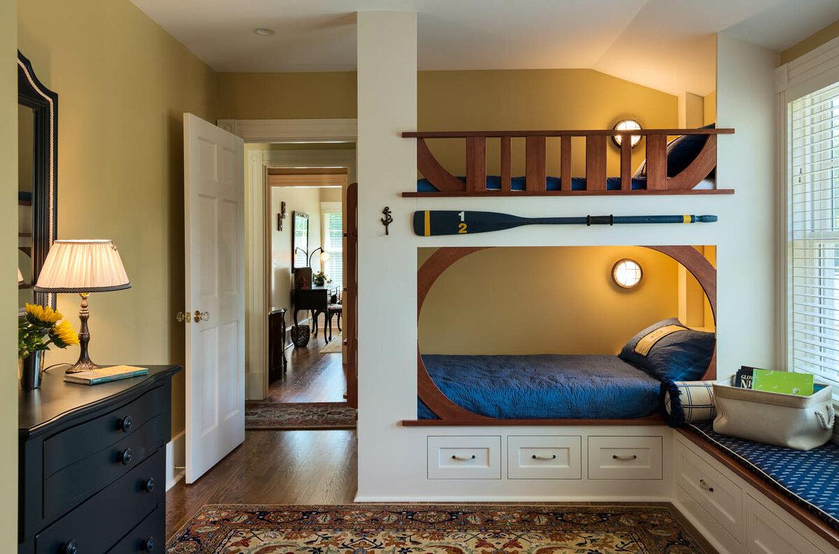 Картинки комната с двухэтажной кроватью