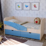 детская кровать дельфин фото