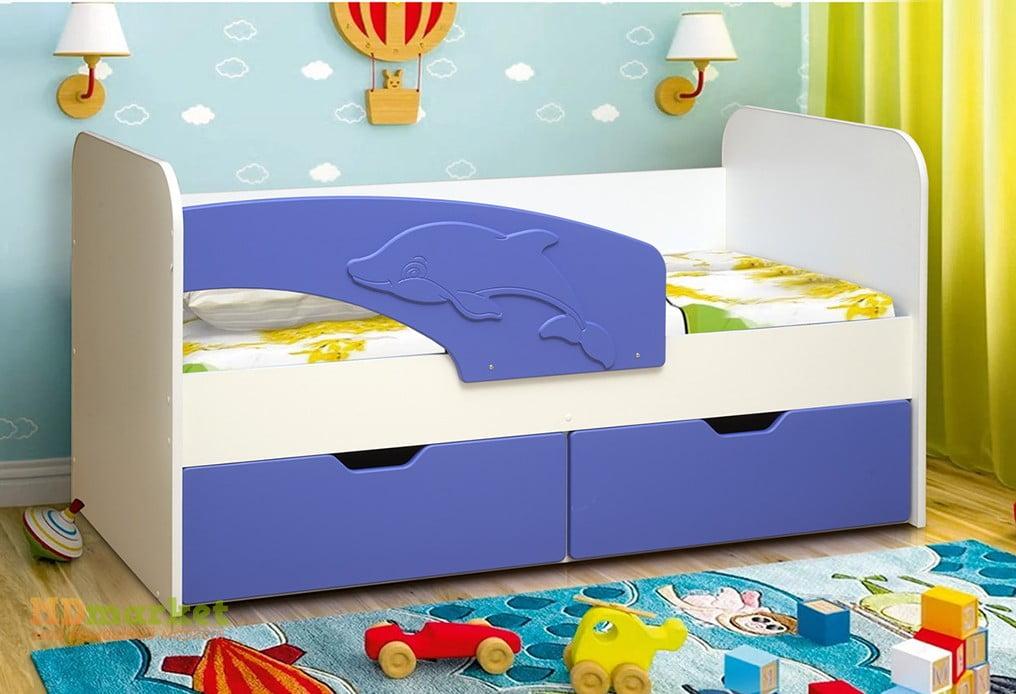 детская кровать дельфин идеи дизайн
