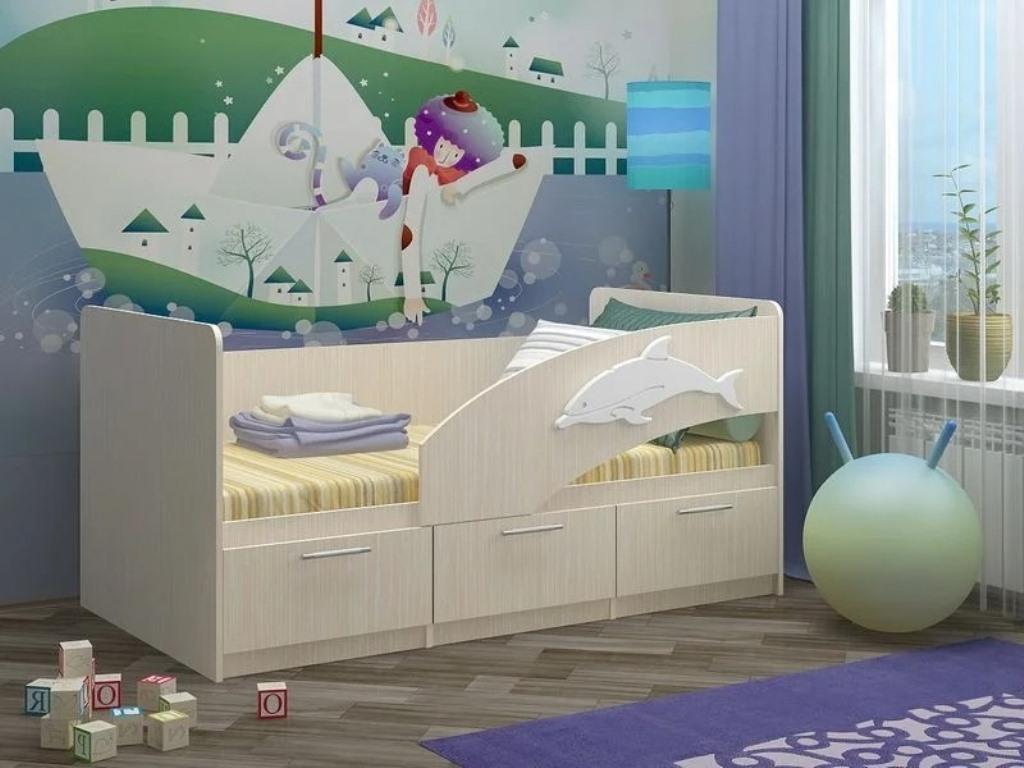 детская кровать дельфин идеи фото