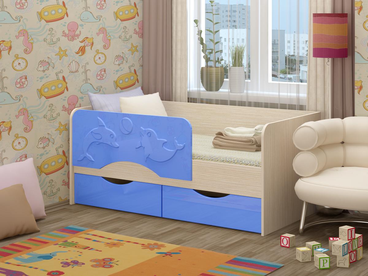 детская кровать дельфин идеи оформления