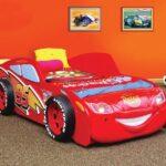 детская кровать-машина 95