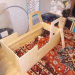 изготовление кровати машины