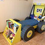детская кровать-машина самосвал