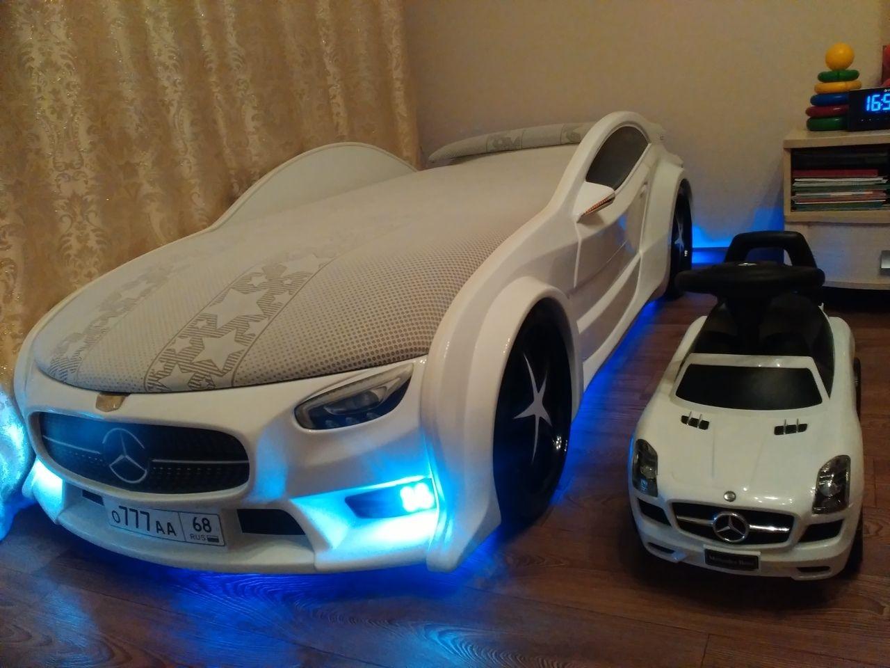 подсветка машины кровати