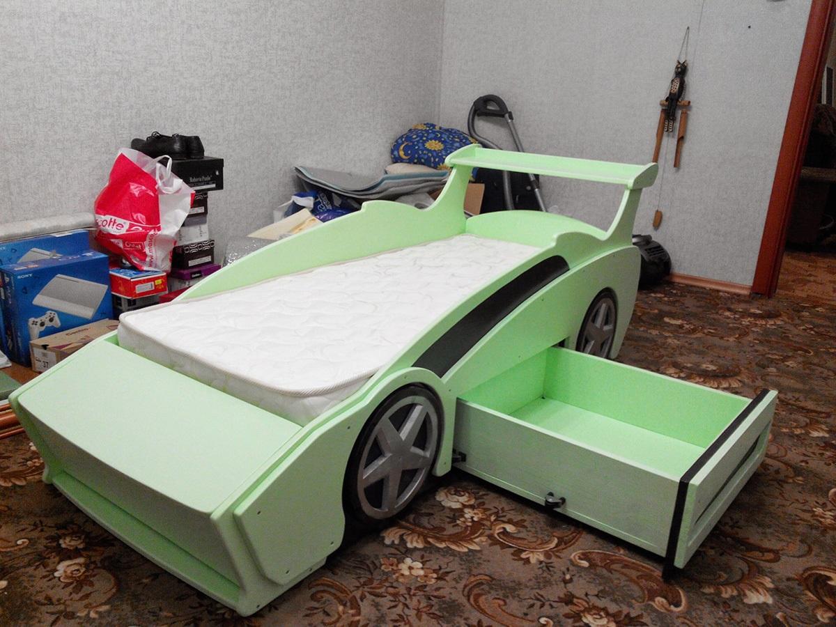 изготовление машины кровати самостоятельно