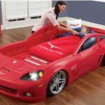 детская кровать-машина кабриолет