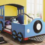 детская кровать-машина паровоз