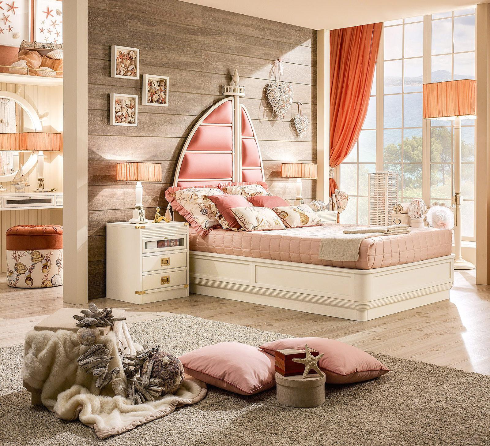 морская комната для девочек