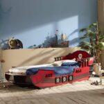 детская морская мебель синие шторы