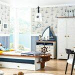 детская морская мебель с парусом