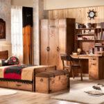 детская морская мебель деревянная