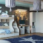 детская морская мебель звезда на полу