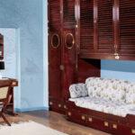 детская морская мебель деревянные шкафы