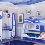 детская морская мебель с якорями