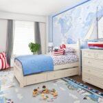 детская морская мебель с ковром