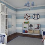 детская морская мебель с кругами