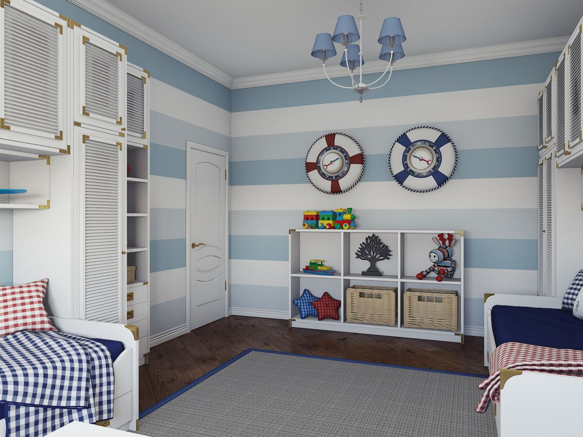 Картинки комнат в морском стиле волгограде