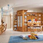 детская морская мебель коричневая