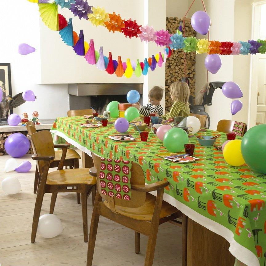 декор дома на детский праздник