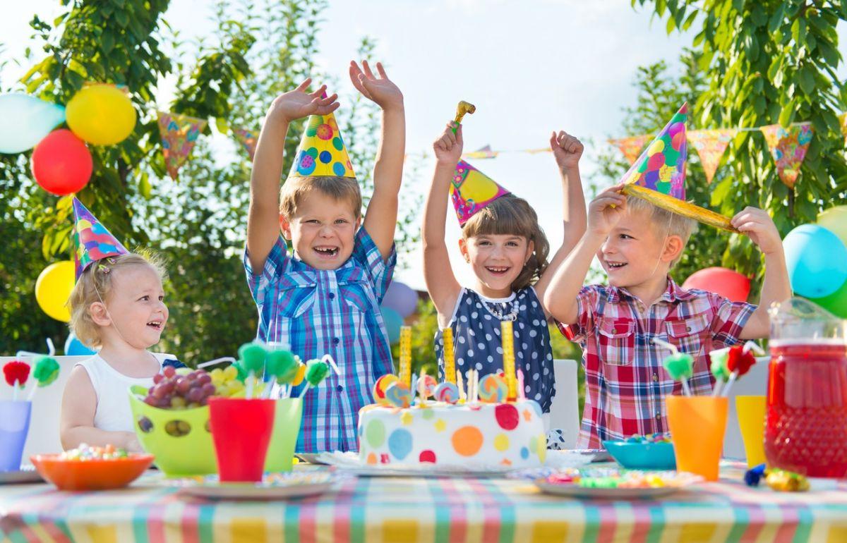 детский праздник на улице
