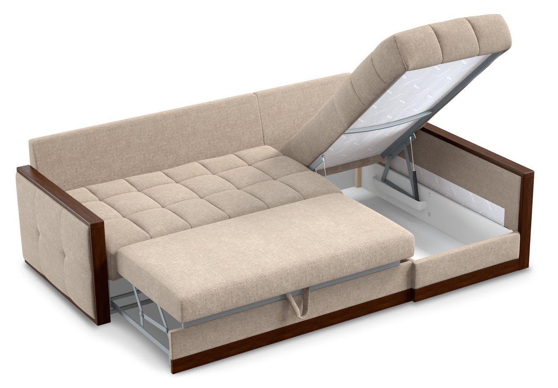 диван с ящиком для белья