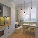 диван на кухне оформление идеи