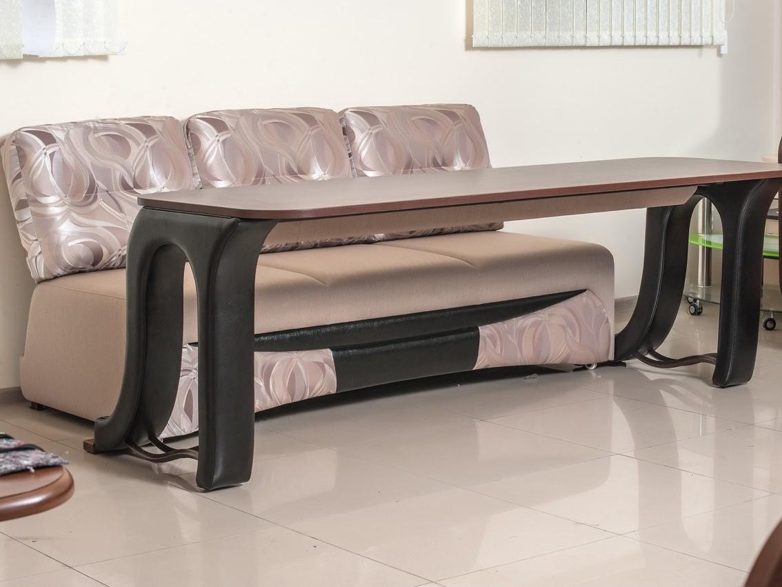 диван-стол разобранный