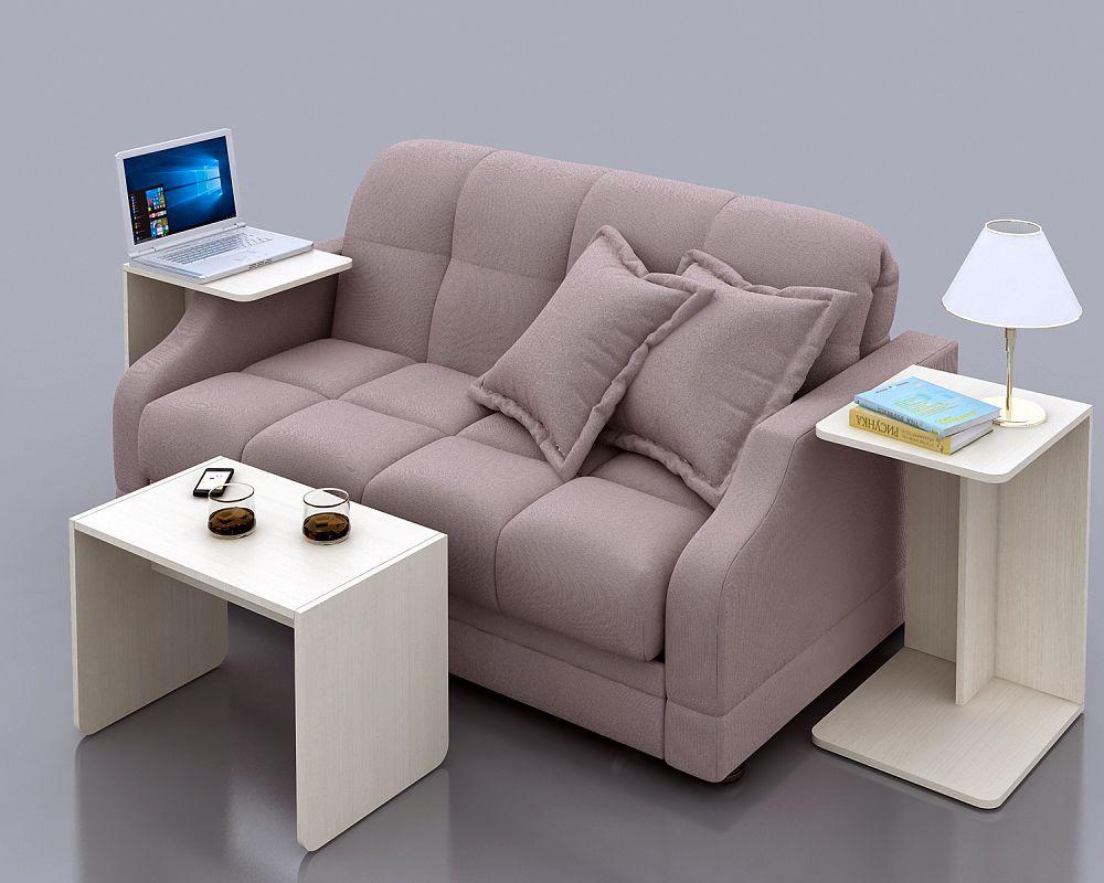 диван с компьютерным столом