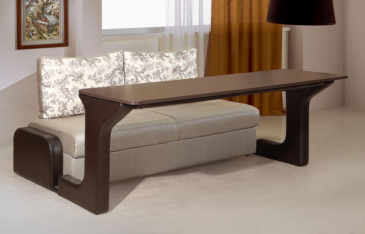 диван с откидной столешницей